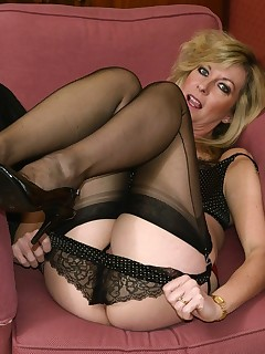 pictures of women in stockings and panties