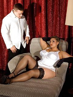 glamour stocking sex pics